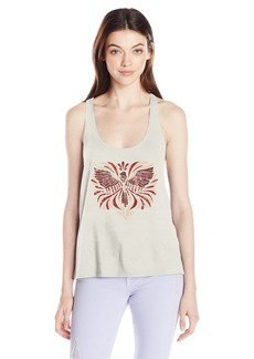 Volcom Junior's Mine Graphic Twist Back Tank  M