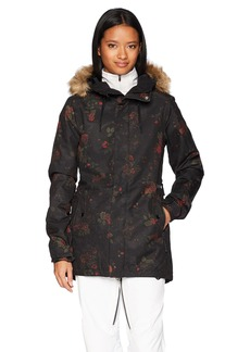 Volcom Junior's Mission Insulated 2 Layer Shell Snow Jacket