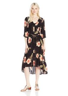 Volcom Junior's Not Overit Convertible Duster Dress  M