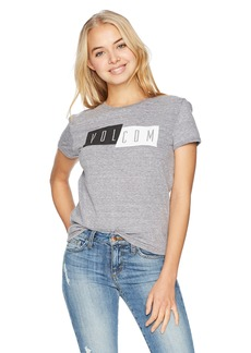 Volcom Junior's Offset Ringer Tee  M