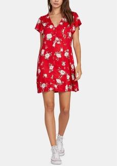 Volcom Juniors' Printed A-Line Dress