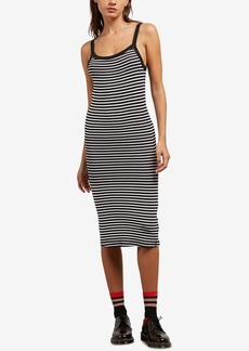 Volcom Juniors' Rave New World Striped Midi Dress