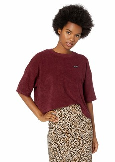 Volcom Junior's Recommended 4 Me Loose Fit Crew Short Sleeve Top  Extra Small
