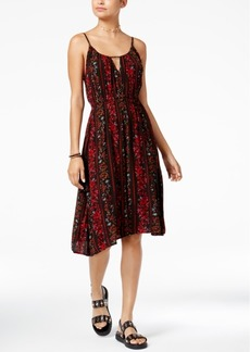 Volcom Juniors' Rough Edges Printed Dress