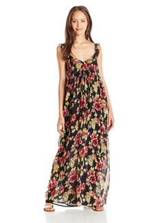 Volcom Juniors Ruffle Feather Maxi Dress