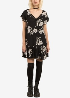 Volcom Juniors' Ruffled-Hem A-Line Dress