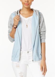 Volcom Juniors' Sea Enemy Cotton Hooded Jacket