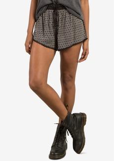 Volcom Juniors' Simple Thing Printed Shorts