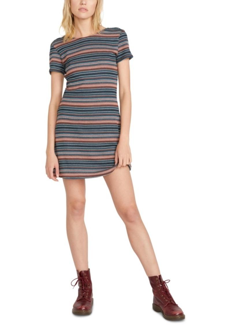 Volcom Juniors' So Far Out Scoop-Back T-Shirt Dress
