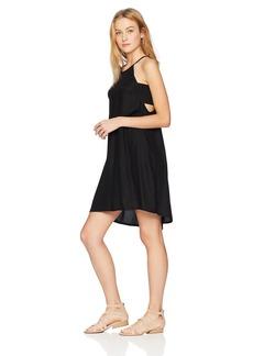 Volcom Junior's Soul Window High Necked Strappy Dress  L