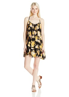 Volcom Junior's Stampede Floral Print Cami Dress  M