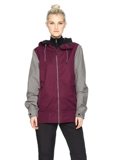 Volcom Junior's Stave 2 Layer Shell Snow Jacket  Extra Small
