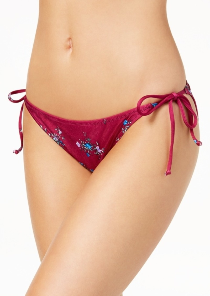 1ca909cf6a25 Volcom Juniors' Stems for Days Side-Tie Cheeky Bikini Bottoms Women's  Swimsuit
