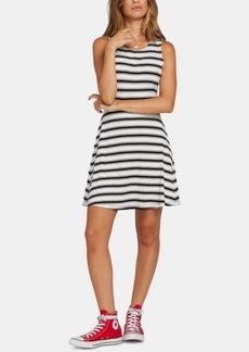 Volcom Juniors' Striped Open-Back Dress
