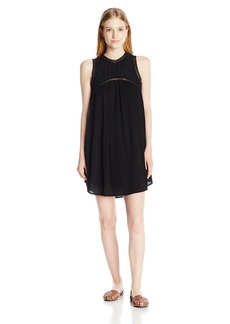 Volcom Junior's Sunset Path Loose Fitting Mock Neck Dress  M