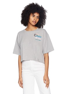 Volcom Junior's Super Stoned Loose FIT Cropped TEE  S