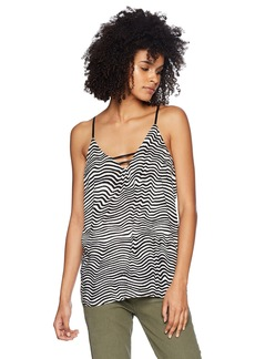 Volcom Junior's THX Its a New Cami Vneck Top  XS