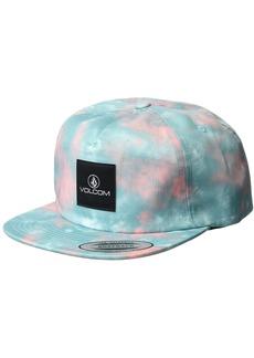 Volcom Junior's Tie Dye for 5 Panel Snapback Hat  O/S