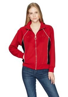 Volcom Junior's True 90's Track Jacket Chili red L