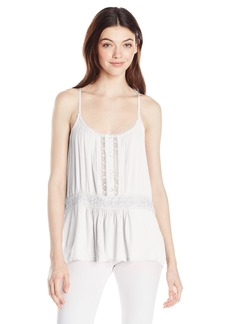 Volcom Junior's Summit Stone Lace Cami  S