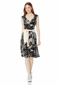 Volcom Junior's Women's Do Tell Button Front Midi Dress  Extra Small