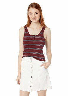 Volcom Junior's Women's Fitted Lil Tank Top Shirt