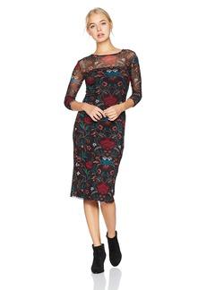 Volcom Junior's Womens' Keep It Fly Long Sleeve Midi Dress  M