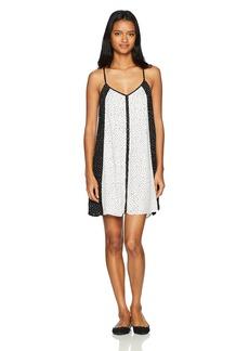 Volcom Junior's Womens' Mix a Lot Allover Print Cami Dress  L