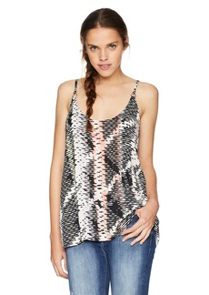 Volcom Junior's You Want This Woven Scoop Neck TOP  XS