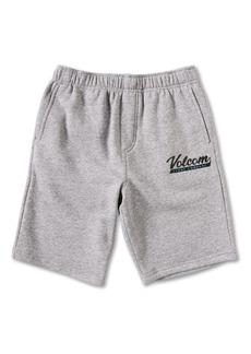 Volcom Kids' Eastmont Fleece Shorts (Toddler, Little Boy & Big Boy)