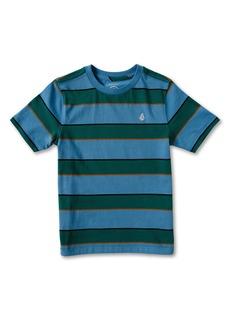 Volcom Kids' Keates Stripe T-Shirt (Toddler & Little Boy)