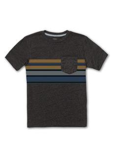 Volcom Kids' Line Stack Pocket T-Shirt (Big Boy)