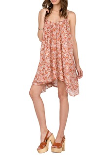 Volcom Laying Low Print Swing Dress