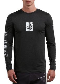Volcom Lido Pixel Graphic Long Sleeve T-Shirt