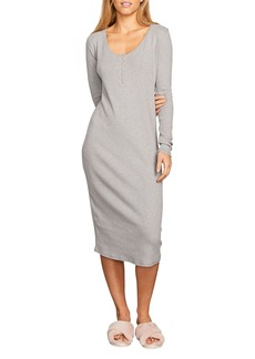 Volcom Lil Henley Midi Dress