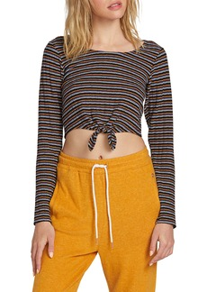 Volcom Lil Stripe Crop Top