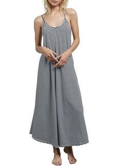 Volcom Lil Stripe Maxi Dress