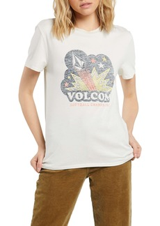 Volcom Lock It Up Organic Cotton Graphic Tee