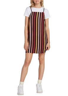 Volcom Lotsa Likes Stripe Dress