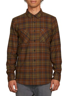 Volcom Lumberg Long Sleeve Flannel Woven Shirt