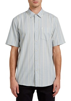 Volcom Maiberger Stripe Short Sleeve Button-Up Shirt