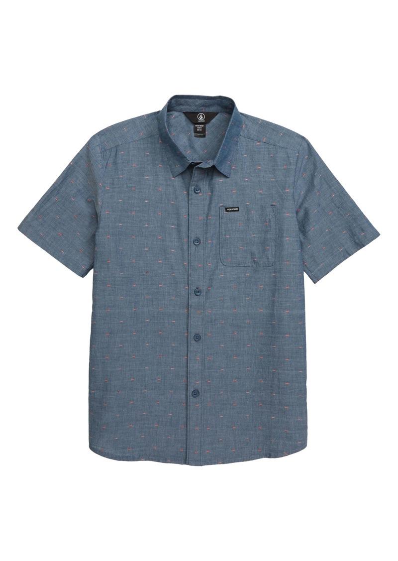Volcom Mark Mix Woven Shirt (Big Boys)