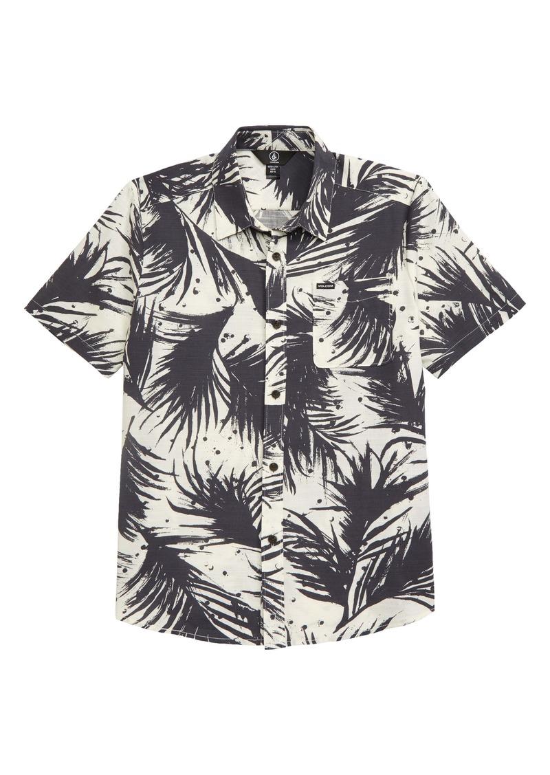 Volcom Mas Palmas Button-Up Shirt (Big Boys)