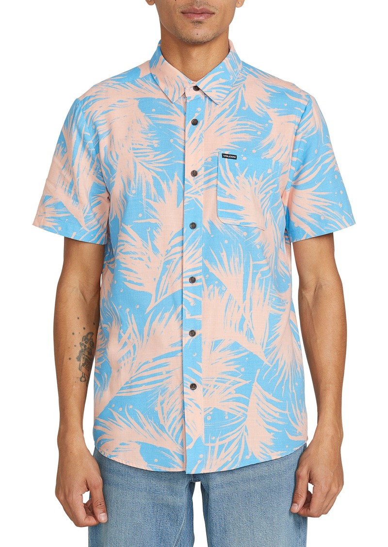 Volcom Mas Palmas Short Sleeve Button-Up Shirt