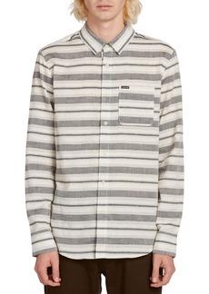 Volcom Meadowz Horizontal Stripe Button-Up Shirt