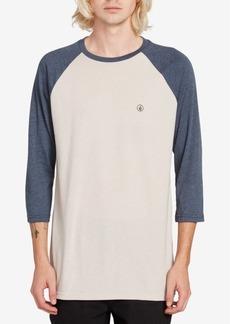 Volcom Men's Baseball T-Shirt