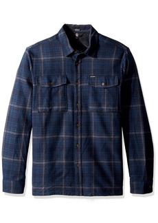 Volcom Men's Bodhi Double Pocket Flannel Long Sleeve Shirt  XS