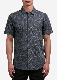 Volcom Men's Burch Print Button-Up Shirt