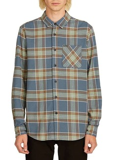 Volcom Men's Caden Plaid LS Shirt