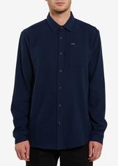 Volcom Men's Caden Solid Flannel Long Sleeve Shirt